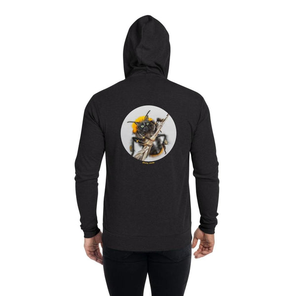 Cat Universe Bee Zip Up Hoodie