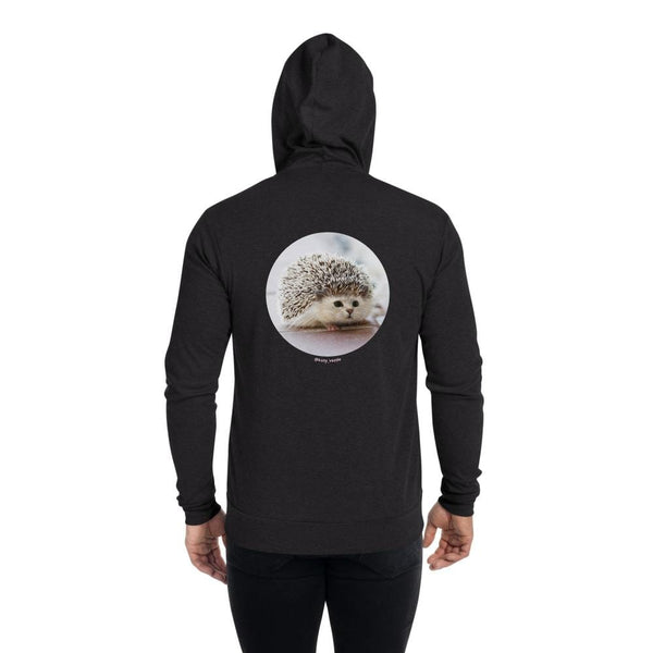 Cat Universe Hedgehog Zip Up Hoodie