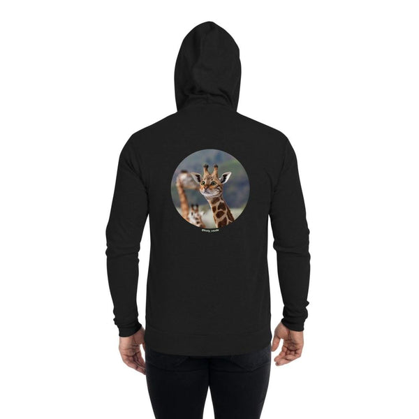 Cat Universe Giraffe Zip Up Hoodie