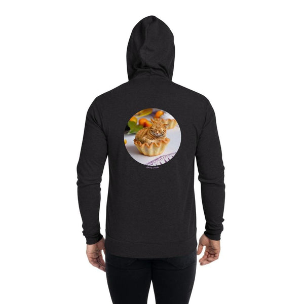 Cat Universe Tart Zip Up Hoodie