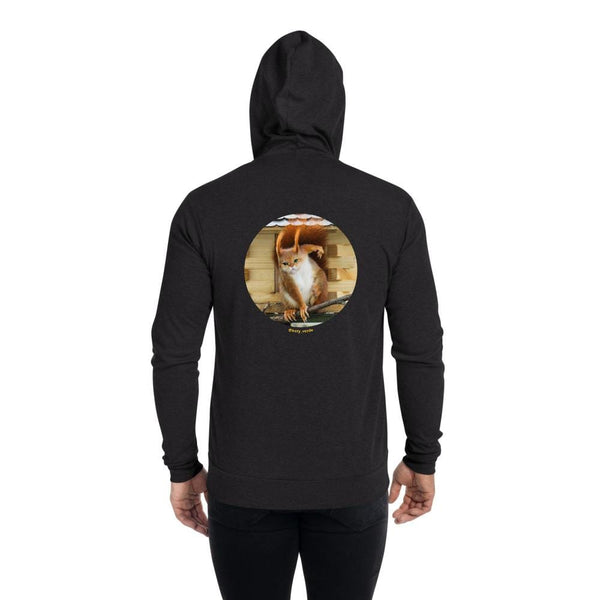 Cat Universe Squirrel Zip Up Hoodie