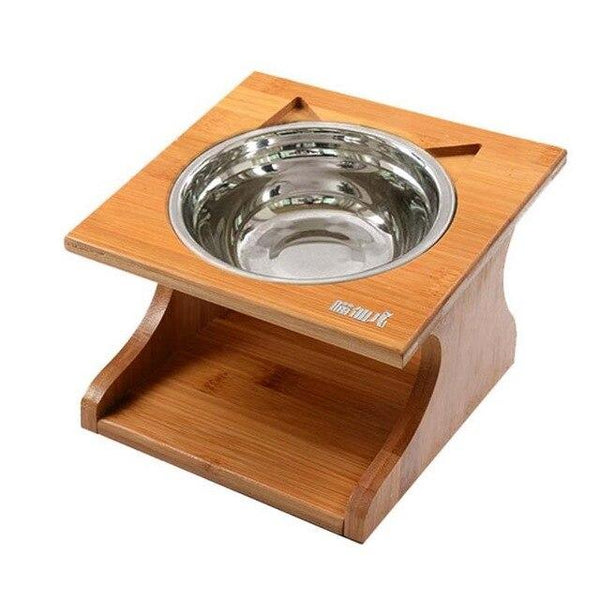 Cat Dining Table Raised Feeding Station