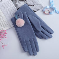 Woolen Kitty Mitty Driving Gloves