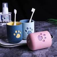 Plastic Cat-Paw 400 ml cups (4 fun colors available!)