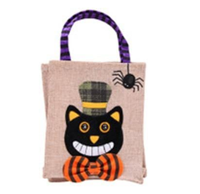 Trick or Treat Kitty Tote