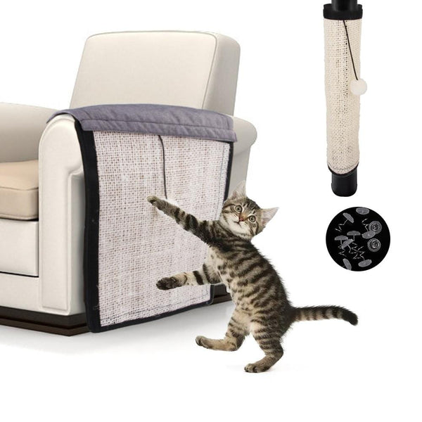 Protective Sisal Cat Scratch Covers (Couch, Table Legs, Chairs)