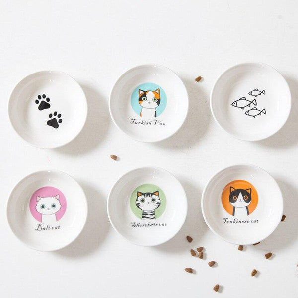 Ceramic Cat Food Bowls