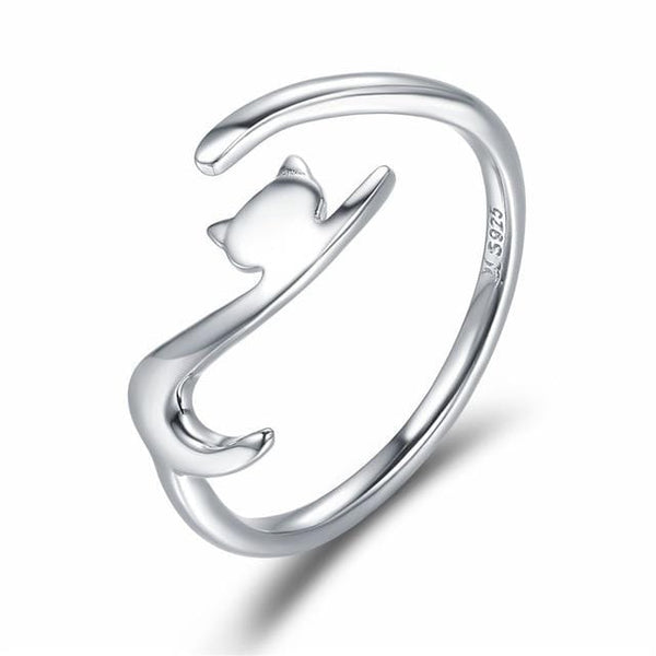 The Long Embrace Cat Ring (2 colours available!)