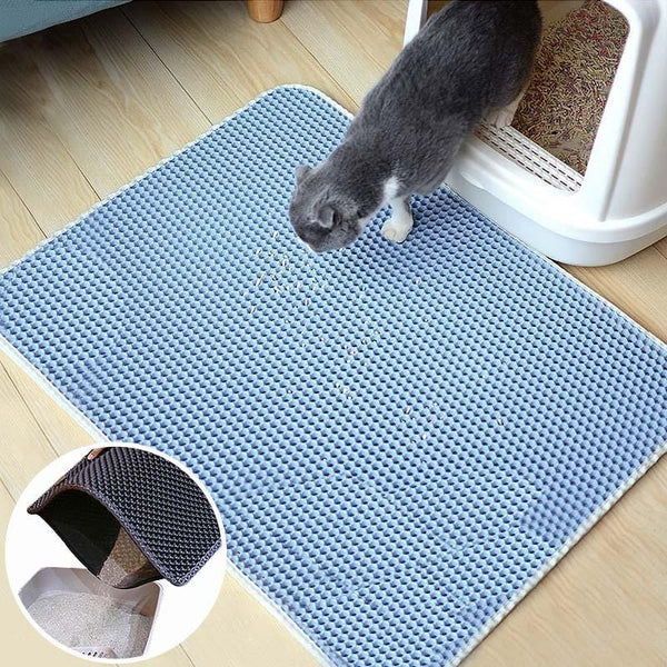 Washable Foam Litter Trapping Mat  (Available in 5 colours and 4 sizes!)