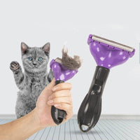 Cat Hair Don't Care De-shedding Brush (size options available!)