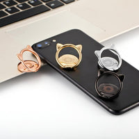 """Cat Ears"" Smartphone Holder Ring"