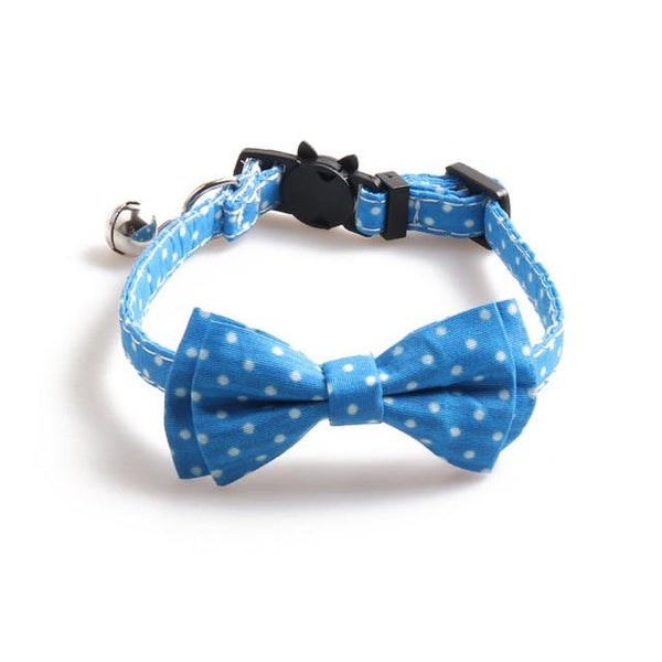 Polka Dot Cat Bow ties
