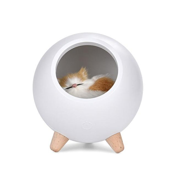 Cat Nap Dimmable LED Lamp