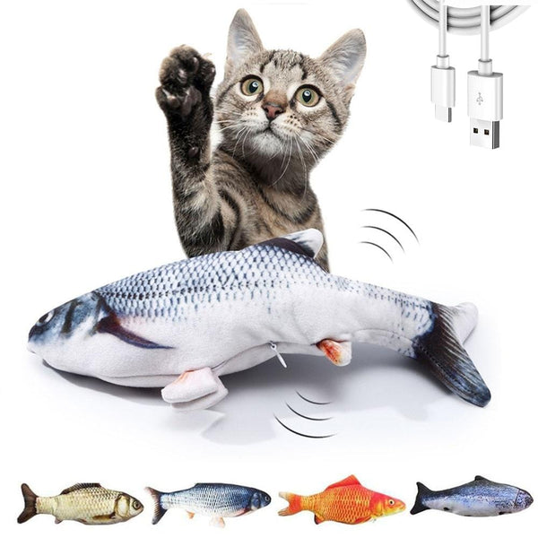 Flopping Fish Cat Toy (USB Charging)
