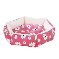 """In Bloom"" Cat Bed with Reversible Cushion"