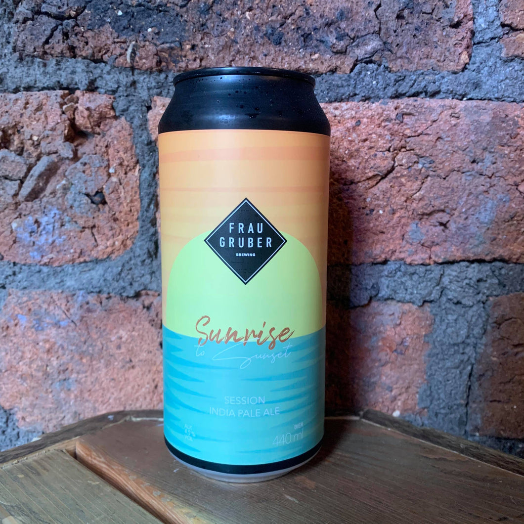 Frau Gruber - Sunrise - Pale - 4.5% - 440ml