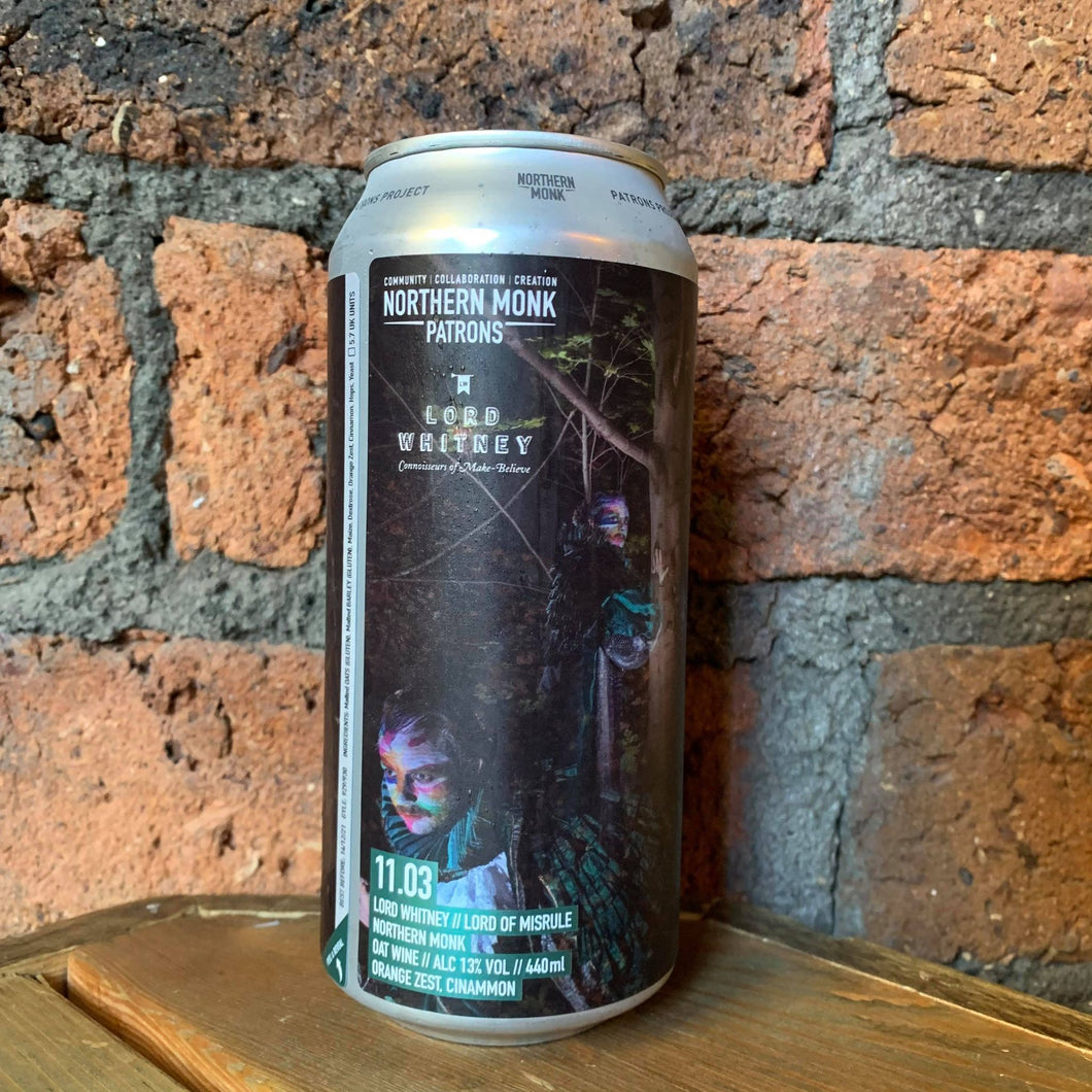 Northern Monk - Lord of Musrule - Barleywine - 13% - 440ml