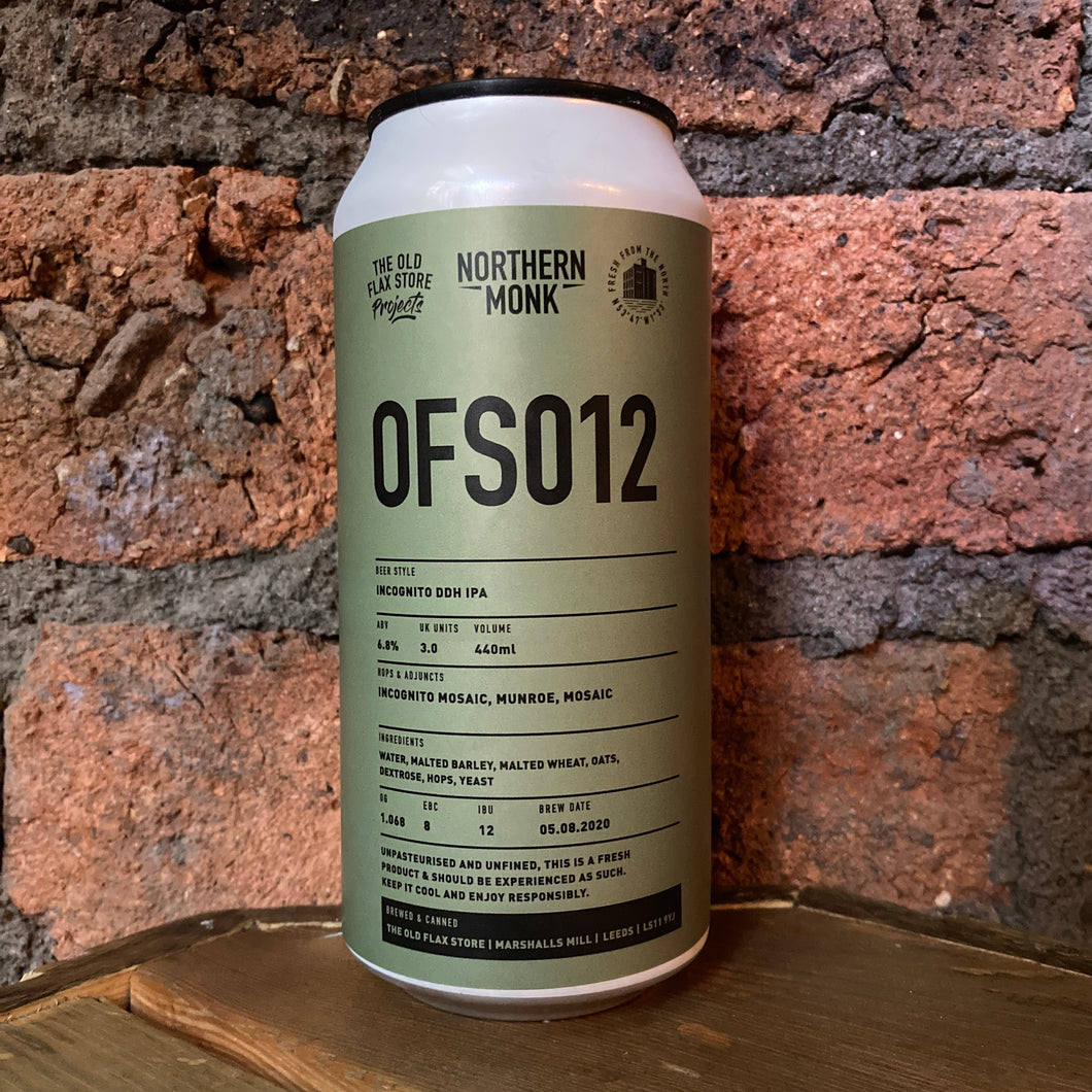 Northern Monk - OFS012 - 6.8% - IPA - 440ml