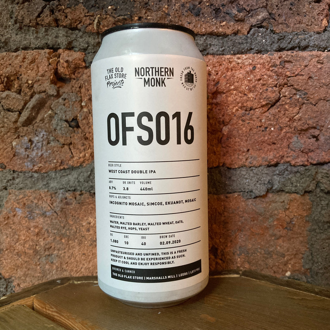 Northern Monk - OFS016 - DIPA - 8.7% - 440ml