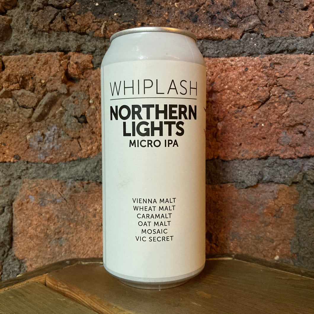 Whiplash - Northern Lights - IPA - 2.8% - 440ml