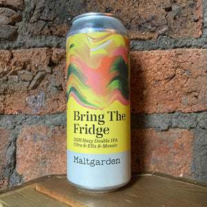 Maltgarden - Bring The Fridge - IPA - 7.2% - 500ml