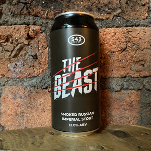 S43 - The Beast - Stout - 12% - 440ml