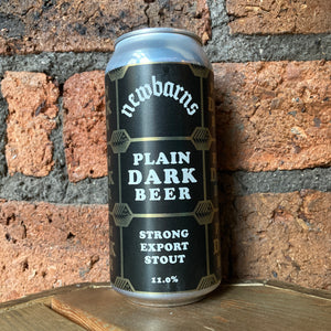 Newbarns - Plain Dark - Export Stout - 11% - 440ml