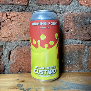 Turning Point - Yellow Matter - Custard Wheat - 6% - 440ml
