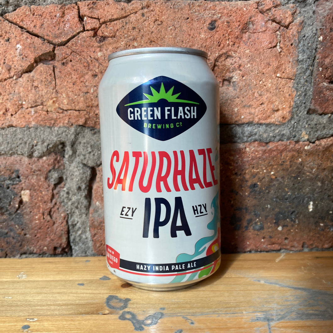 Green Flash - Saturhaze - IPA - 4.2% - 355ml