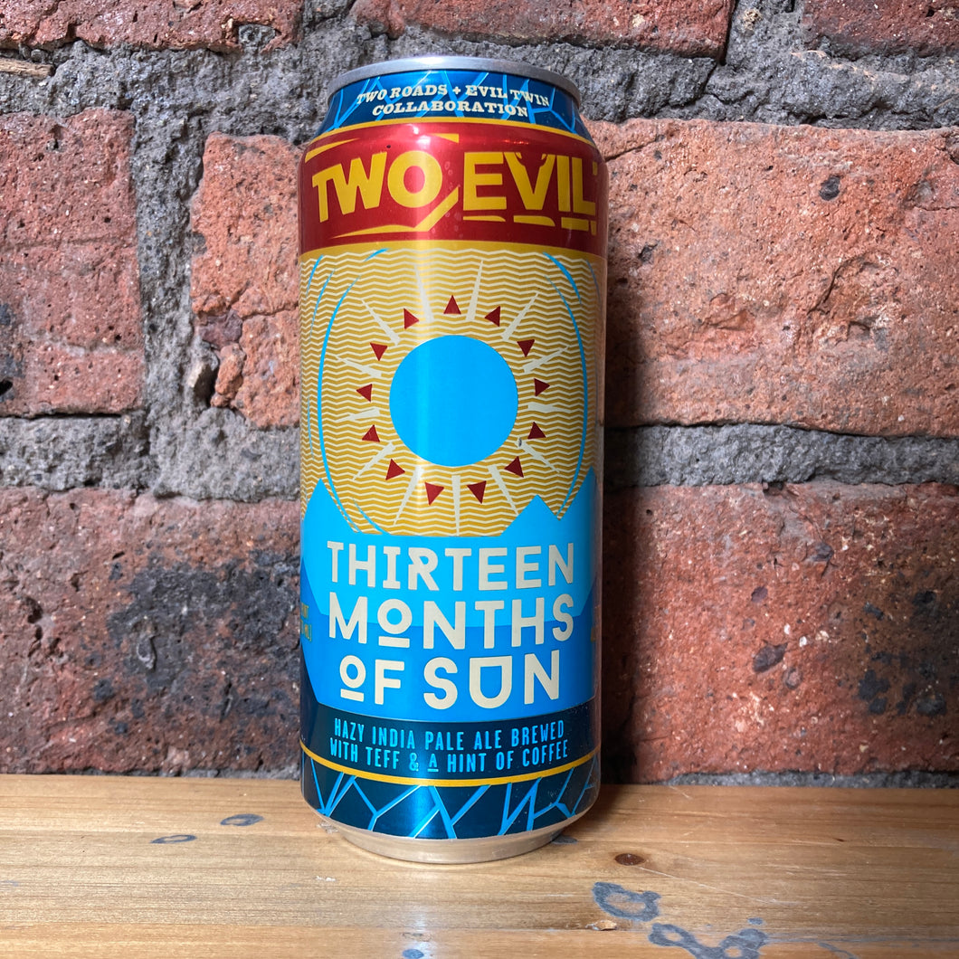 Evil Twin - Thirteen Months of Sun - IPA - 7% - 473ml