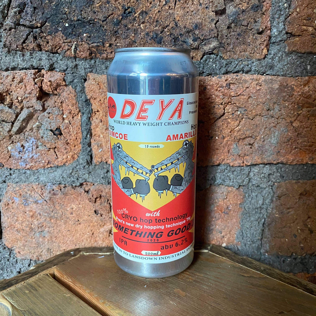 Deya - Something Good 3 - IPA - 6.2% - 500ml
