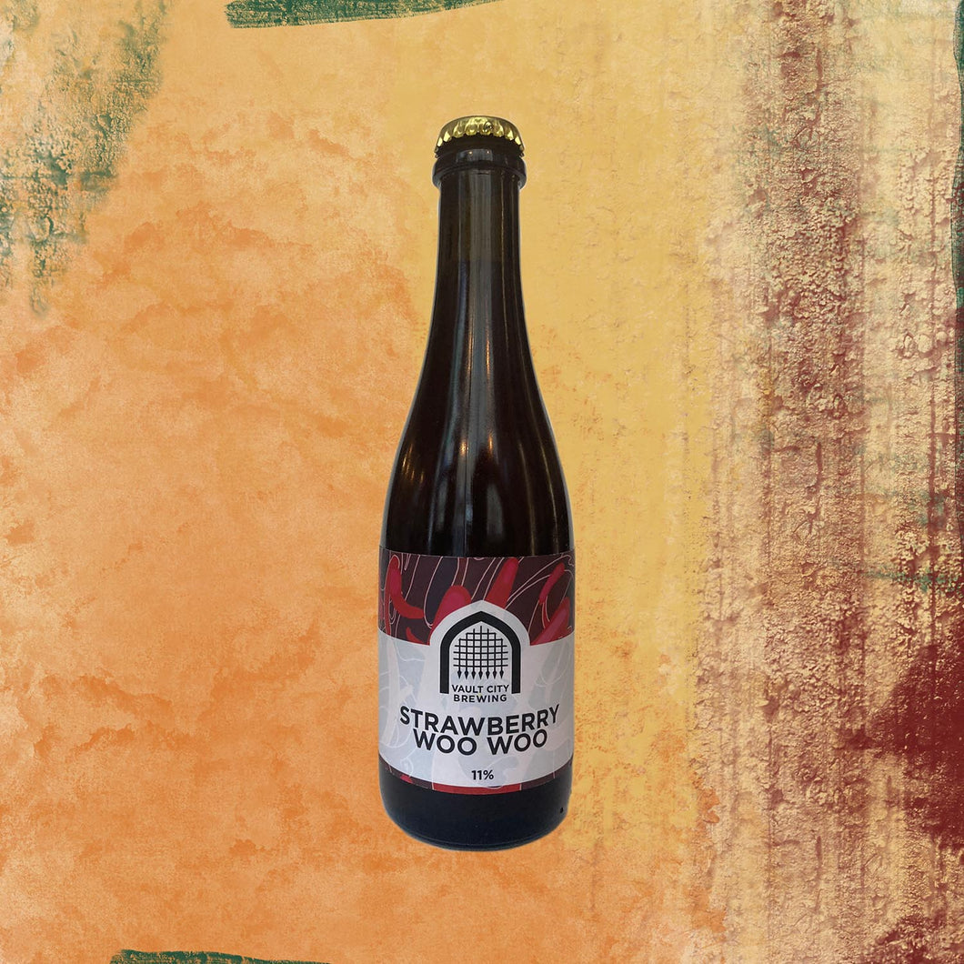 Vault City - Strawberry Woo Woo Sour - 375ml