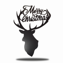 Load image into Gallery viewer, Merry Christmas Deer