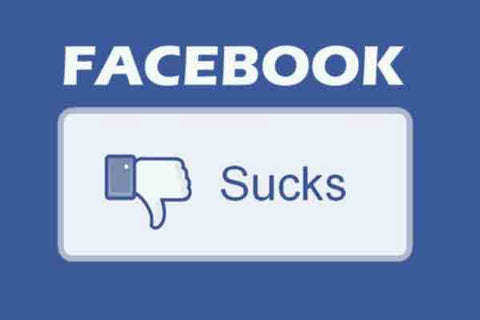 Facebook sucks