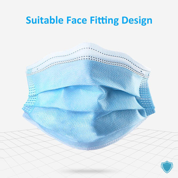 Surgical Masks Medical 3-Layer - 99% Filtration