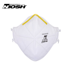 N95 Respirator Face Mask - Model L-188 - FOLDABLE - NIOSH Approved