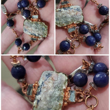 Load image into Gallery viewer, Sodalite Bracelet with Czech Bead Accents
