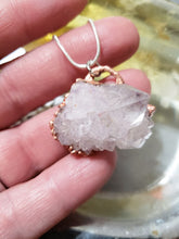 Load image into Gallery viewer, Raw Mystic Quartz Necklace