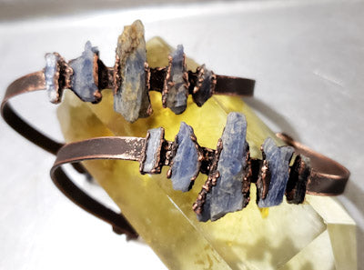 Raw Kyanite Bracelets