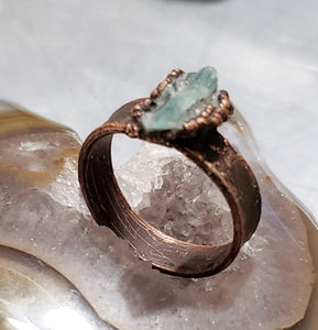 Delicate Blue Kyanite Ring
