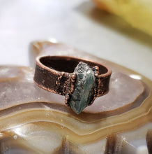 Load image into Gallery viewer, Delicate Blue Kyanite Ring
