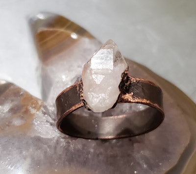 Crystal Quartz Ring