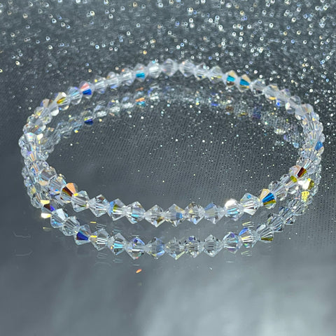 Crystal Stacker Stretch Bracelet