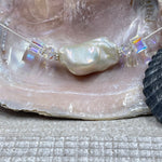 Soufflé Pearl with Swarovski Crystals Necklace