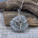 Stalactite Wire Wrapped Necklace