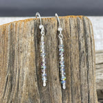 Sparkling Stones Sterling Earrings