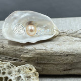 Natural Oyster and Metallic Pearl Necklace