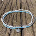 Sand, Sea and Sky Anklet