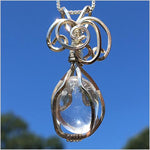 Cape May Diamond Wire Wrapped Pendant