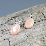 Cape May Pink Stone Earrings